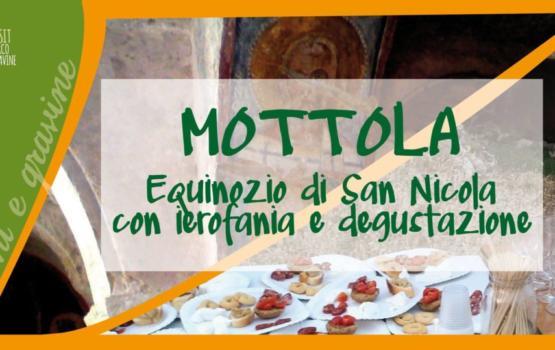 Mottola, Equinozio di San Nicola con ierofania e degustazione